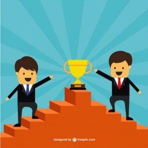 los-empresarios-de-exito-en-la-parte-superior-de-una-escalera_23-2147509006